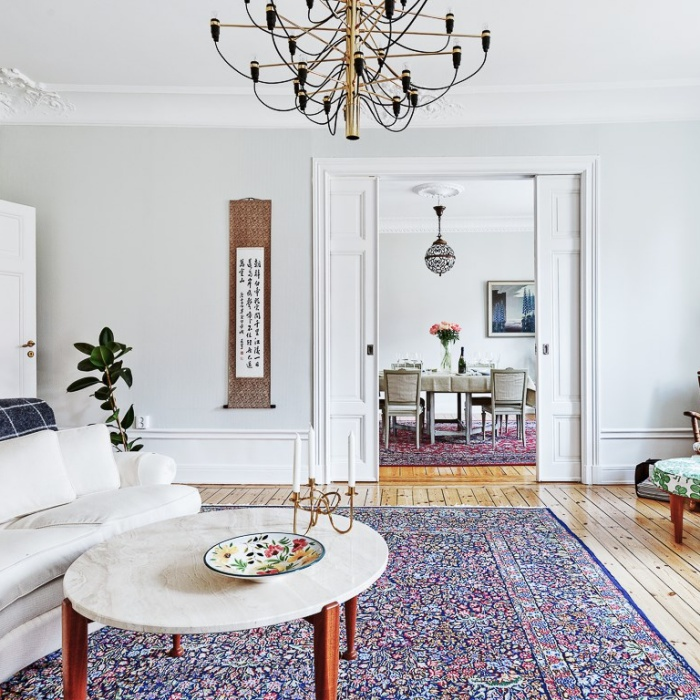 Scandinavian Home With A Vintage Touch