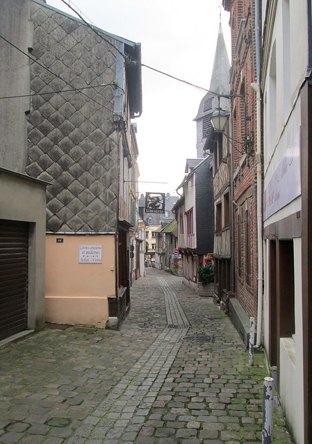 Typical Narrow Street, Honfleur