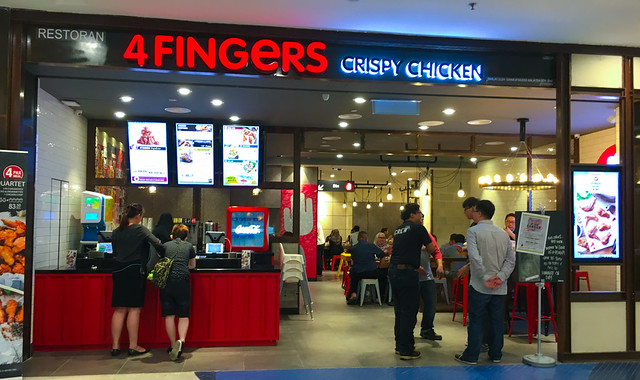 4Fingers Crispy Chicken at Sunway Pyramid