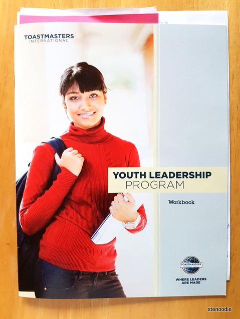 Toastmasters workbook