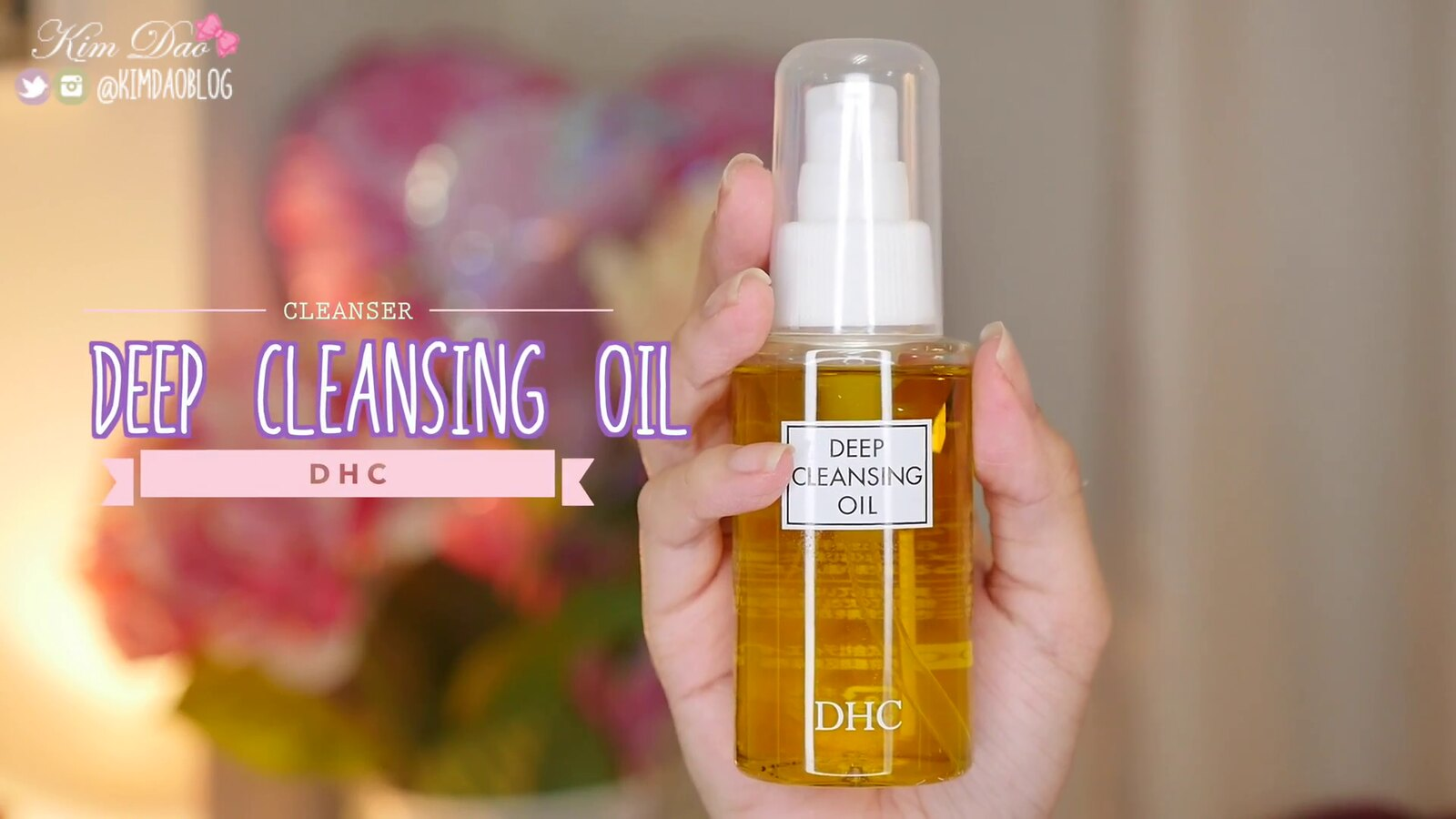 Top 10 Japanese Skincare DHC Deep Cleansing Oil Kim Dao