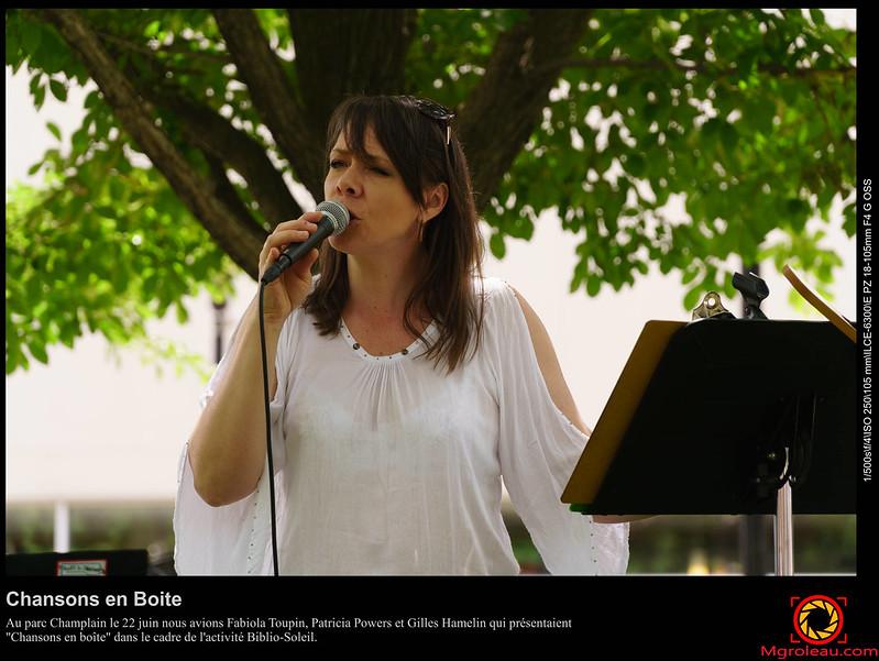 Chansons en Boite