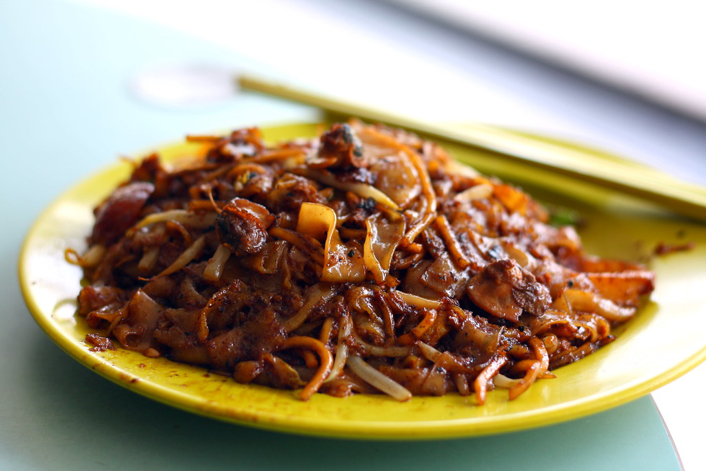 Eunos Eateries: hoon Hong Fried Kway Teow