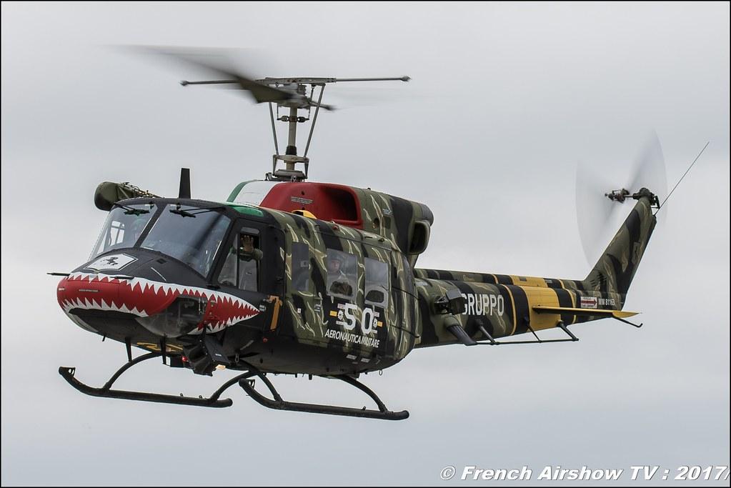 AB-212ICO , 21° Gruppo (ItAF) , Nato Tiger Meet landivisiau 2017 , NTM2017 ,Spottersday Nato Tigers , Harde to be humble , bretagne
