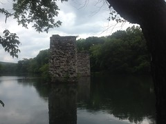 Old Etowah Trian Bridge Piers 3