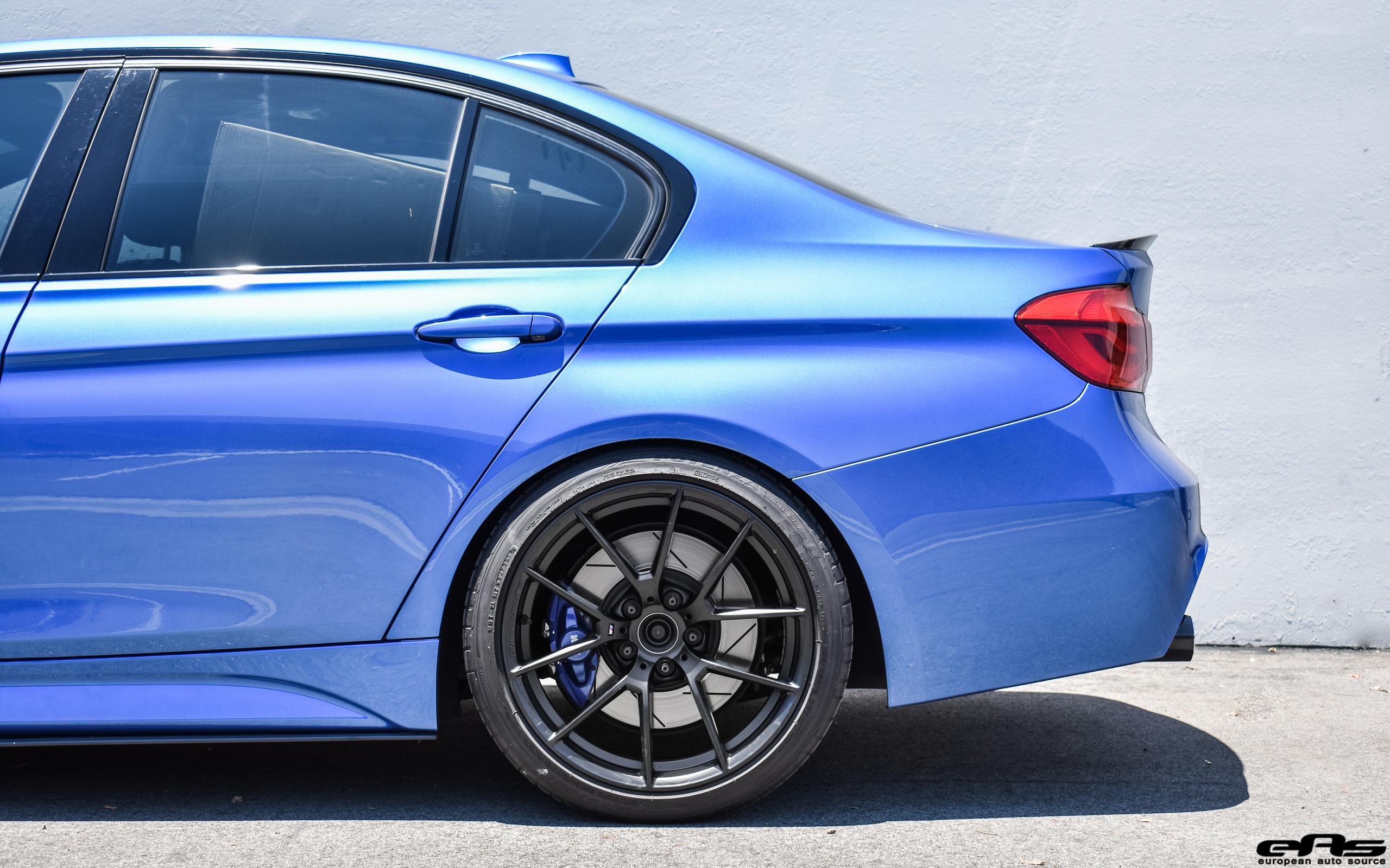 47c2f8d4e013 BMW - M Performance Carbon Fiber Rear Spoiler · BMW - M Performance Side  Blade Attachments - BMW F30 3-Series M-Sport