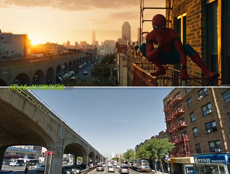 Spider-Man Homecoming filming in Queens