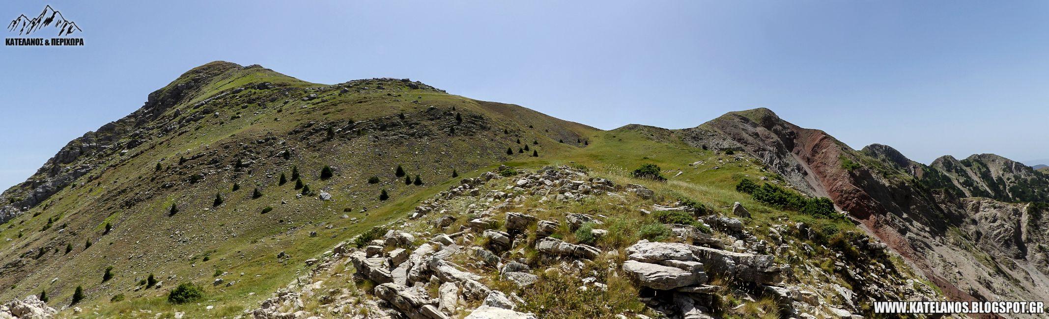 παναιτωλικο ορος διαδρομες πλατανακι αναβαση πλατανι ευρυτανιας