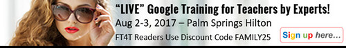 Google G Suite Training for Teachers FT4T Ad2
