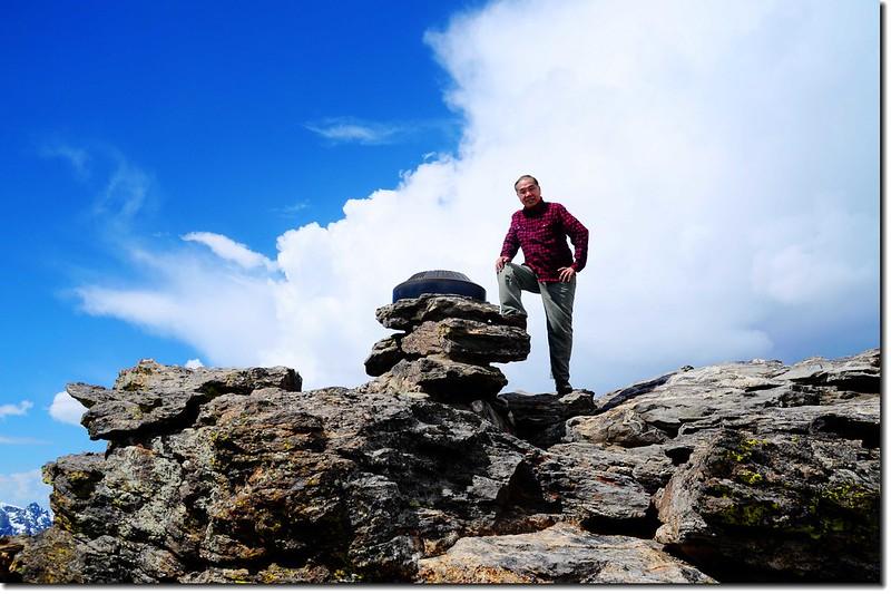 Toll Memorial Trail summit 1