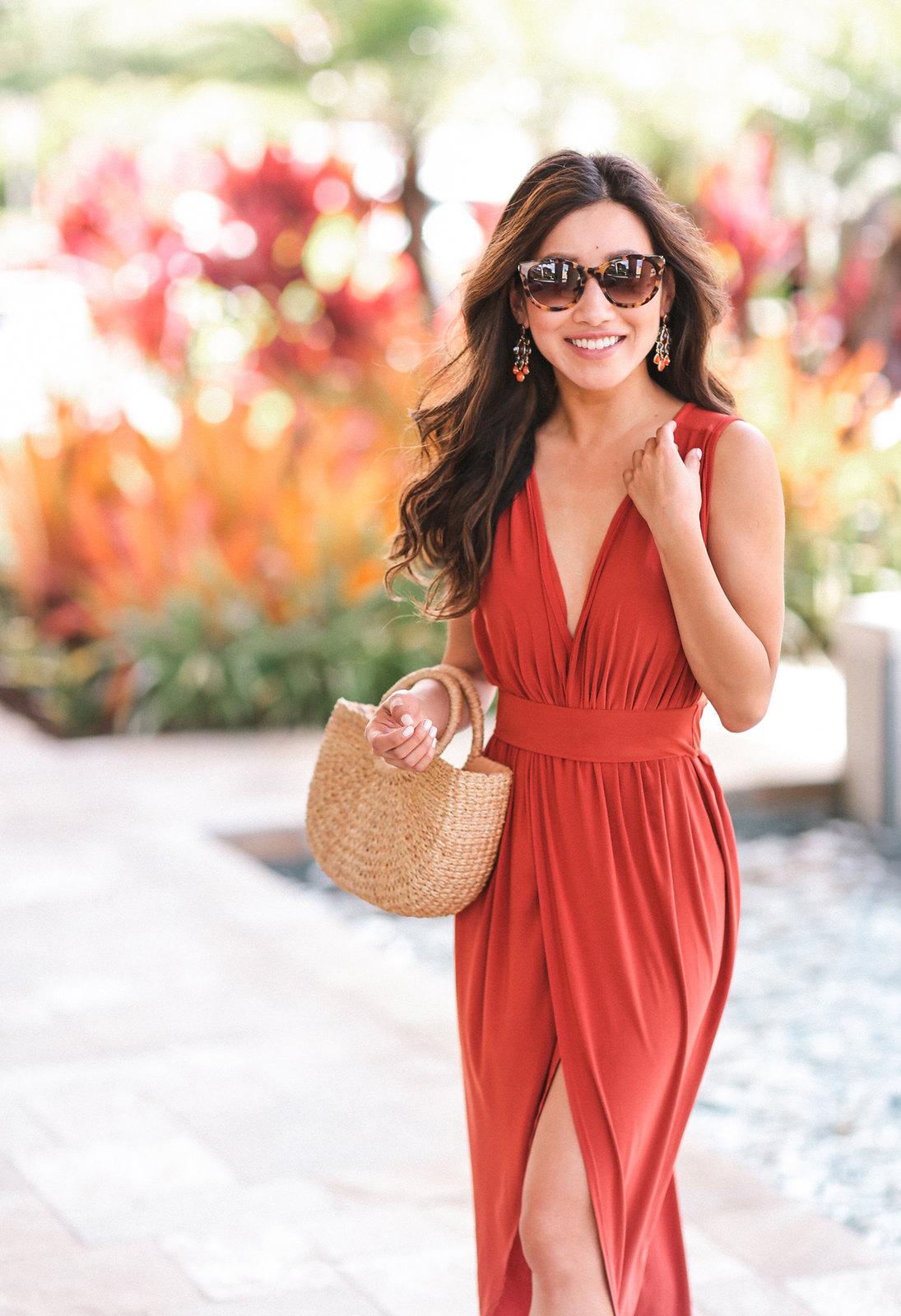 maui hawaii honeymoon vacation resort dress outfit