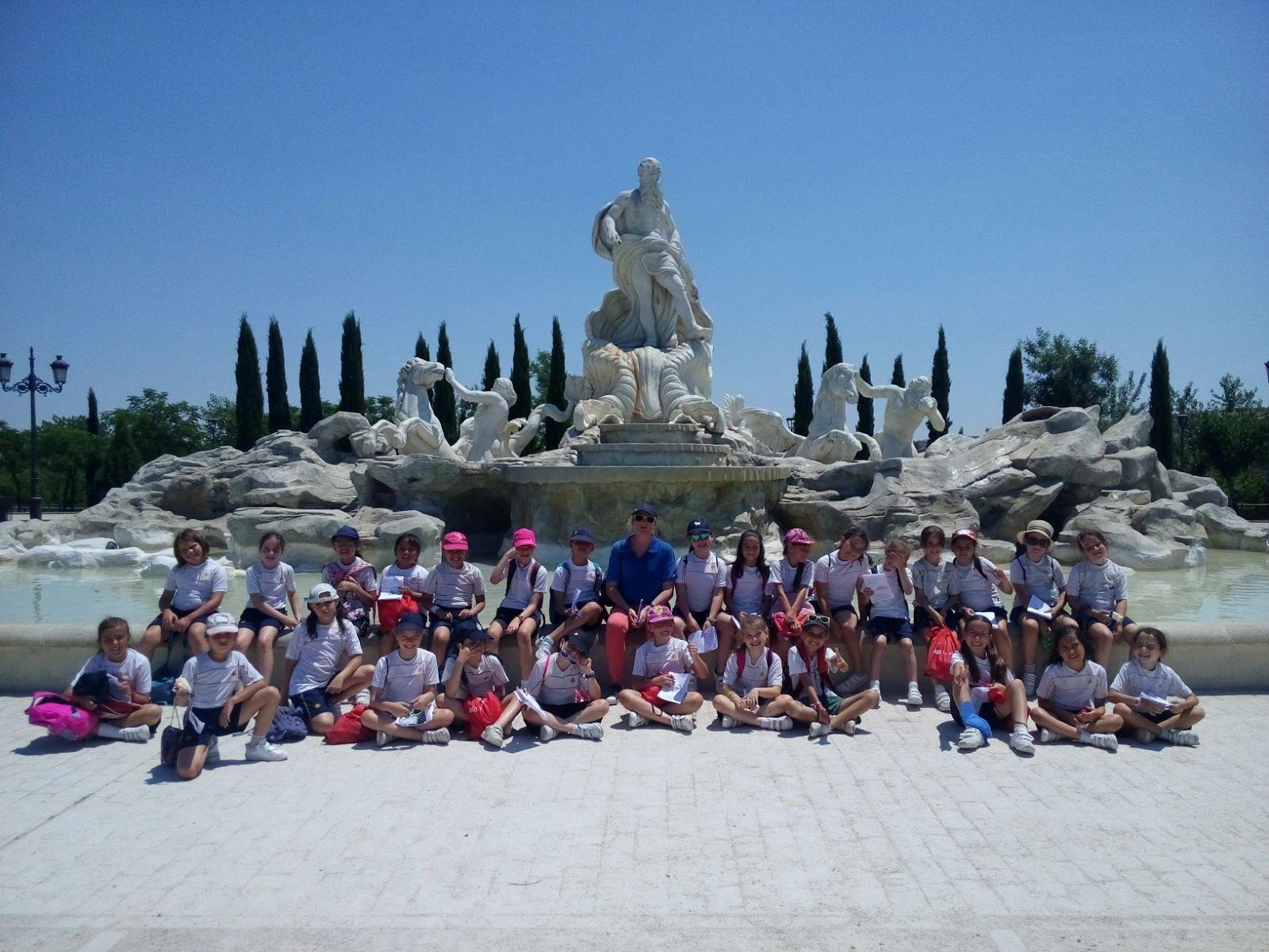 3º Primaria en el Parque Europa