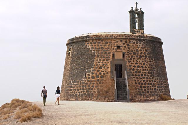 Castillo de las Coloradas, Yaiza, Lanzarote