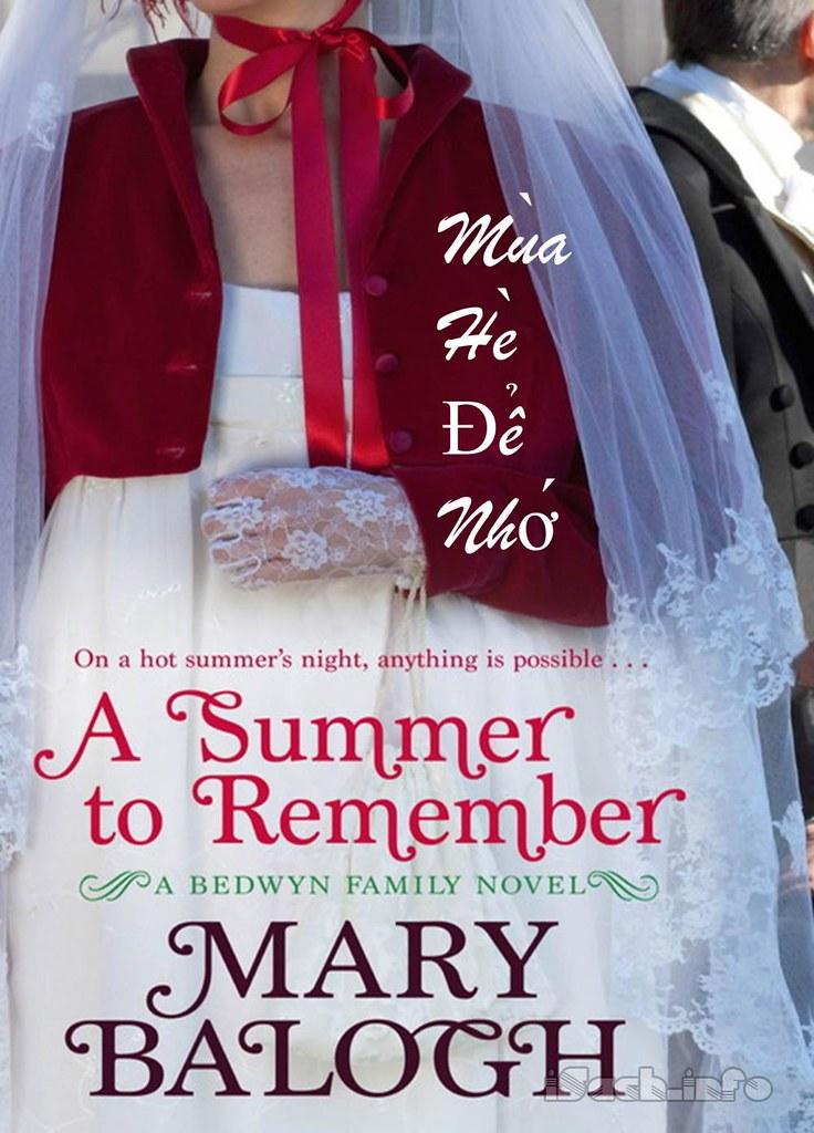 Mùa Hè Để Nhớ - Mary Balogh