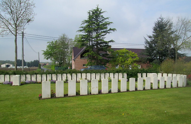 Perth Cemetery near Ypres