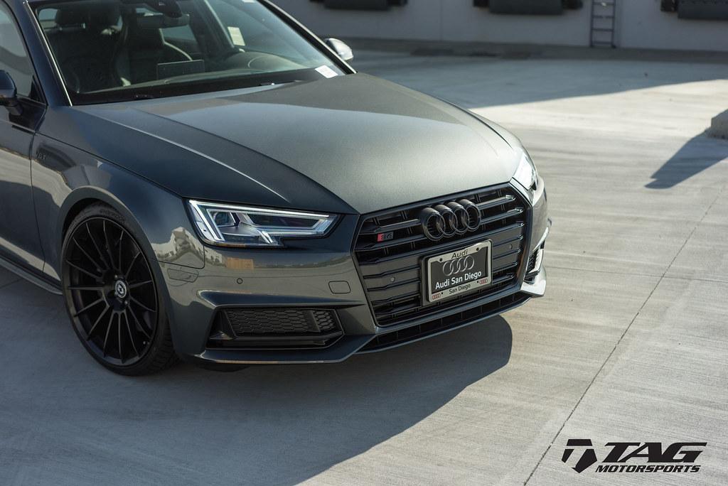 HRE Wheels | Audi B9 S4 with FlowForm FF15 Wheels in Tarmac!