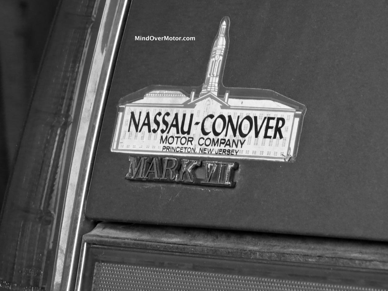 Lincoln Mark VII Badge