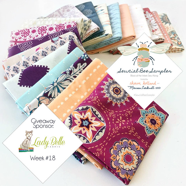 Soulful FQ Giveaway with Lady Belle Fabrics!