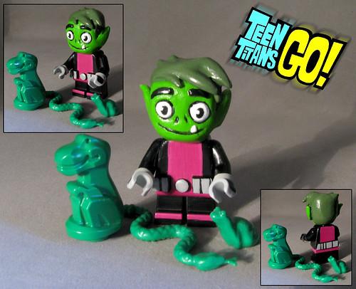 BeastBoy-Teen Titans GO-Lego Custom | Hey guys here we go ...
