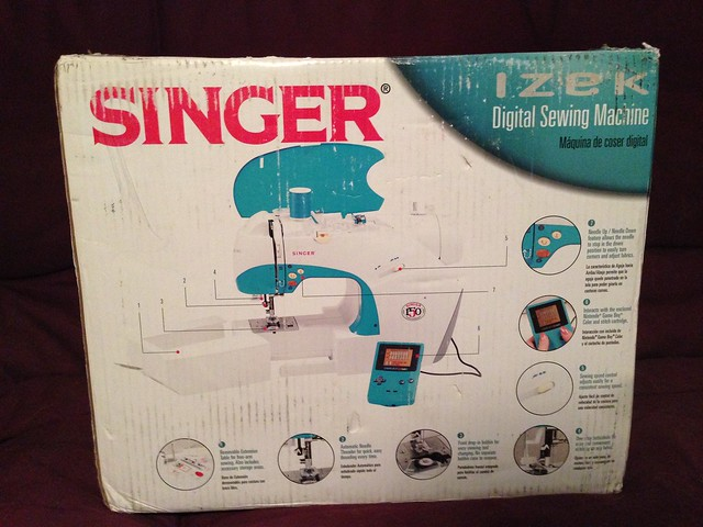 Singer Izek sewing machine