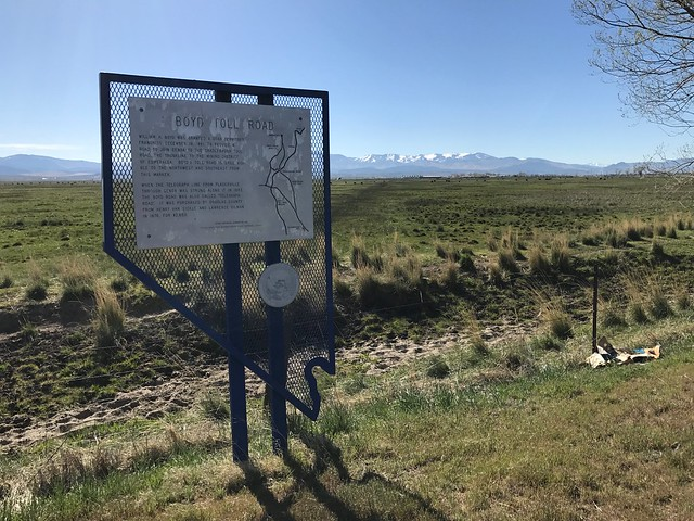 Nevada Historical Marker #142