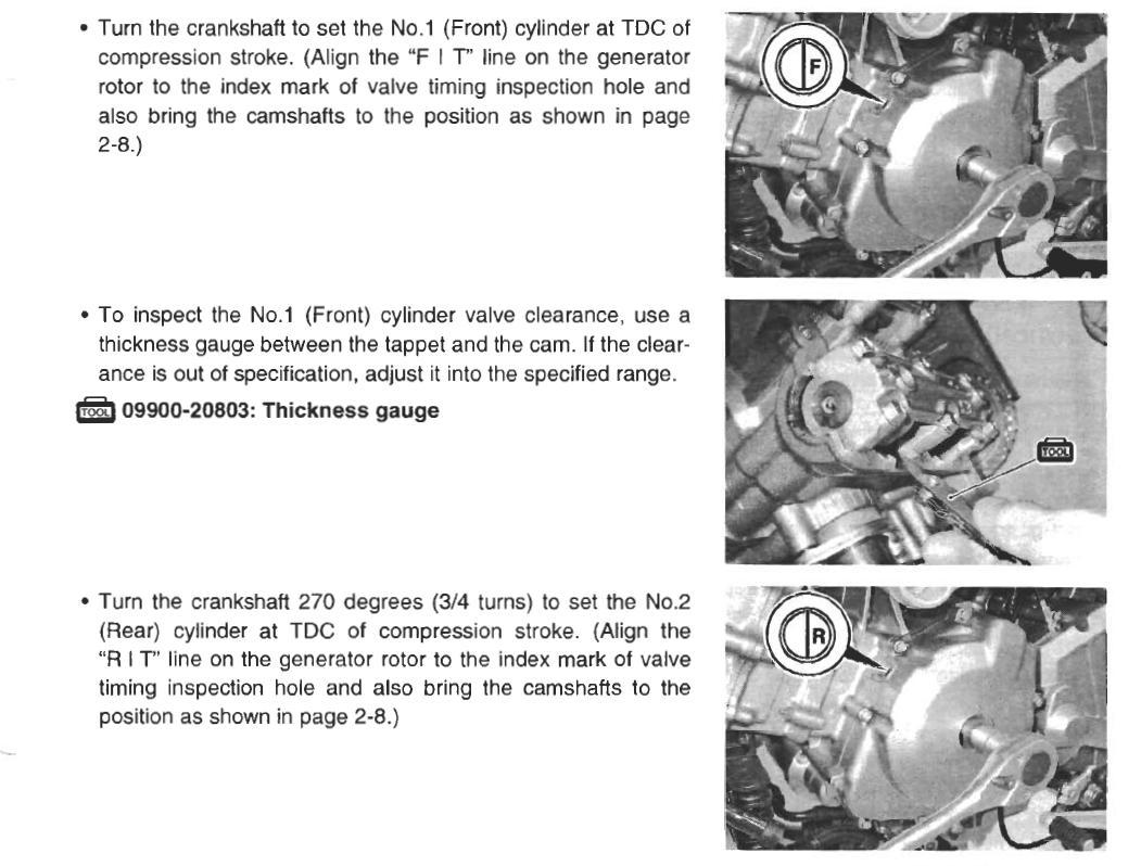 V-Strom engine stalls suddenly after valve adjustment | Adventure Rider