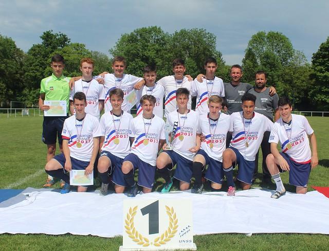 Lycée Carnot de Roanne: Champion de France UNSS de Football à 7
