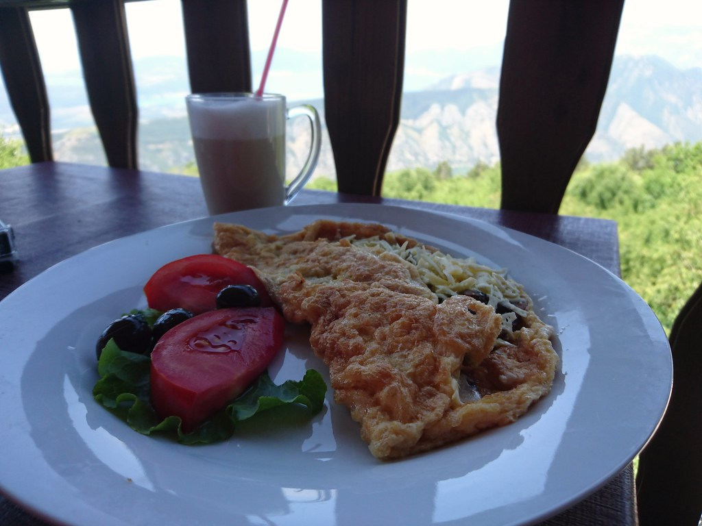 Best omelette ever, Kotor Serpentine