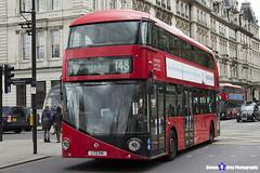 Wrightbus NRM NBFL - LTZ 1141 - LT141 - Shepherd's Bush 148 - RATP London United - London 2017 - Steven Gray - IMG_9171