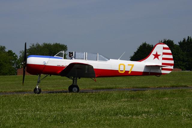 G-BMJY Yakovlev Yak-18A