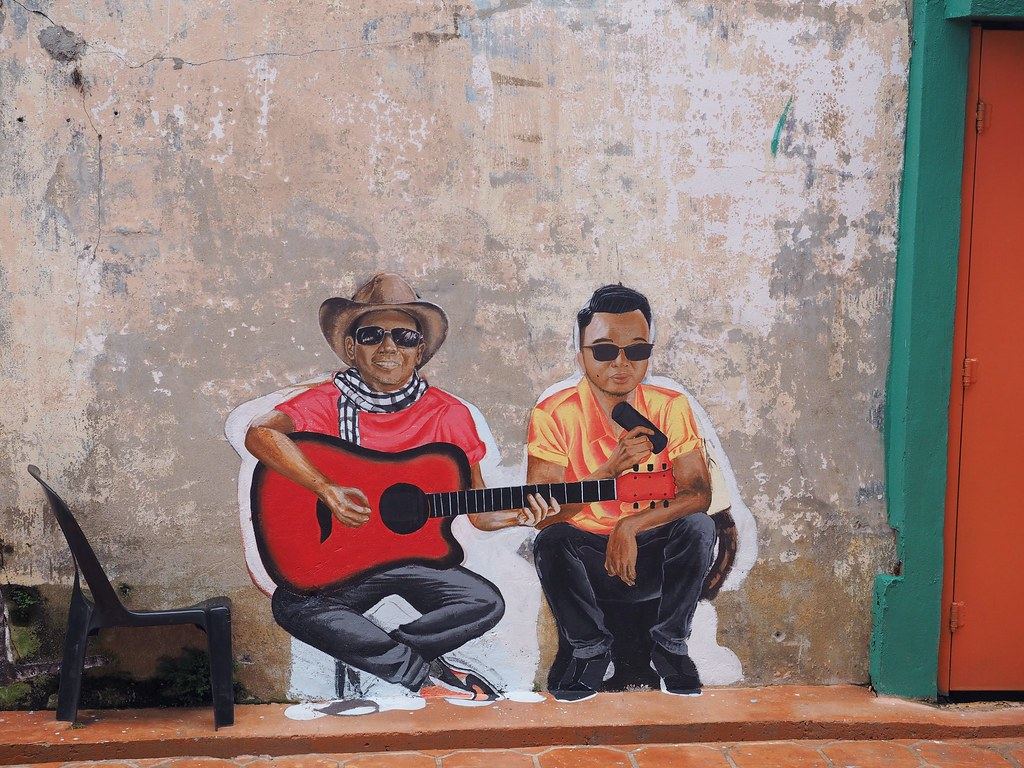 Kuching street art
