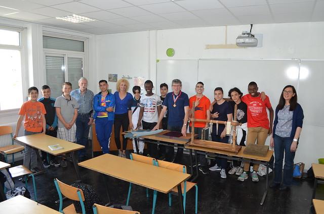 Interventions de 12 MOF au collège Elsa Triolet