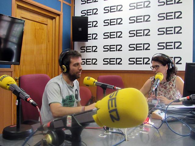Entrevistas SER y CMMedia Patios por la Igualdad (Junio 2017)