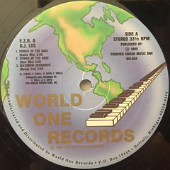 E.Z.B. & D.J. LOS:POWER OF THE BASS(LABEL SIDE-A)