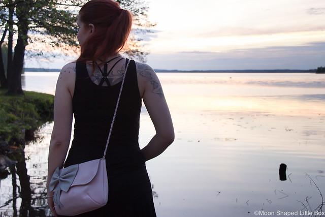 Pieksämäellä Bloggaajat Tapaaminen Kesäkuu 2017 blogi tyyli muoti lifestyle bloggaajat bloggaaja Pieksämäki fashion style blogger event Finland Auringonlasku Change Lingerie