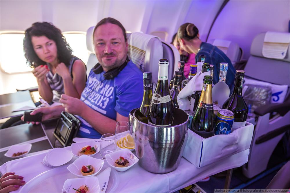 Бортпитание Air Astana