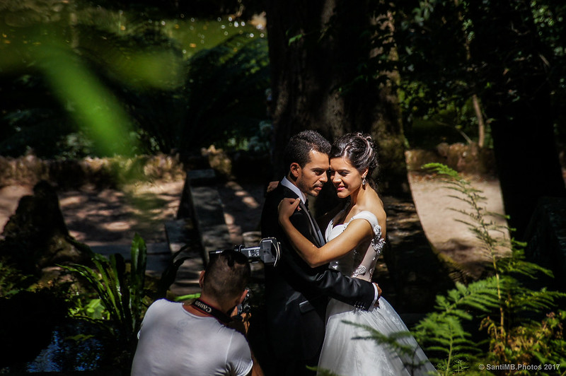 Reportaje de boda en Buçaco