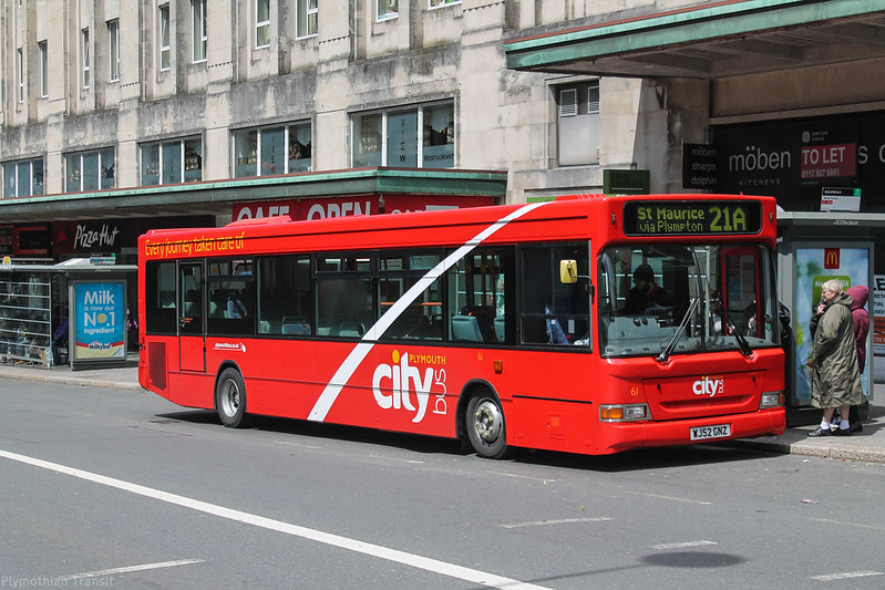 Plymouth Citybus 061 WJ52GNZ