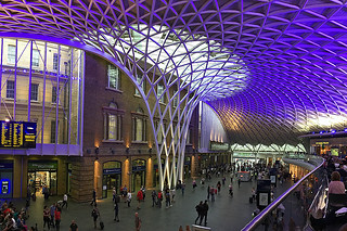 London - Underground Kings Cross station