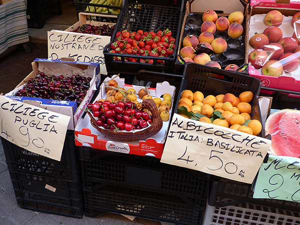 fruits italiens