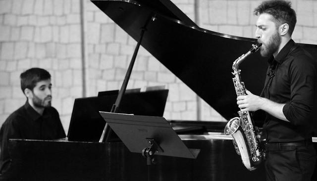 """MIGUEL VALLÉS, SAXOFÓN & BENJAMÍN RICO, PIANO - AUDITORIO """"ÁNGEL BARJA"""" CONSERVATORIO DE LEÓN - CICLO JUVENTUDES MUSICALES DE ESPAÑA - UNIVERSIDAD DE LEÓN 12.06.17"""