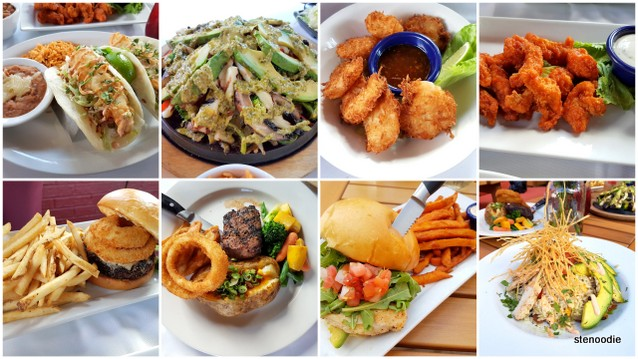 Lone Star Texas Grill showcase menu