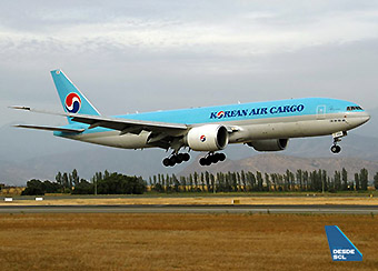 Korean Air Cargo B777F (Rodrigo Vildósola)