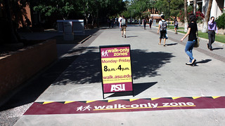 ASU Walk Only Zone | by soleimages