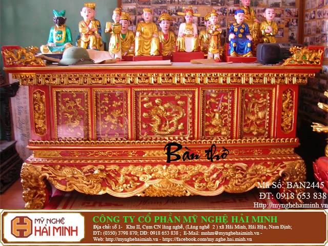 Kích thước bàn thờ Gia Tiên hợp phong thủy tâm linh  14