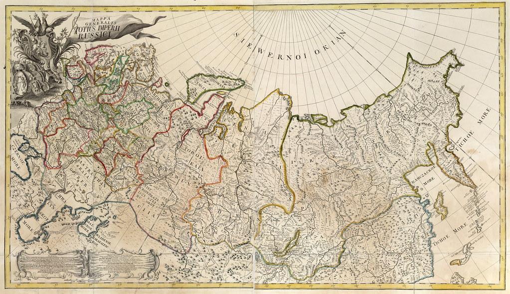 Russian Empire in 1745