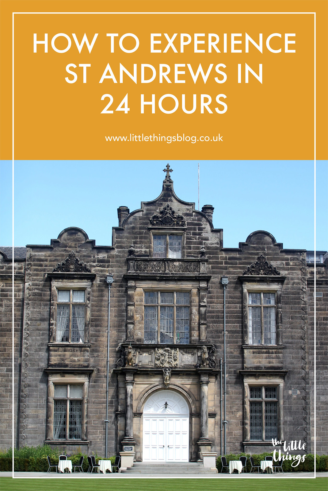 experience st andrews scotland in 24 hours travel blogger UK