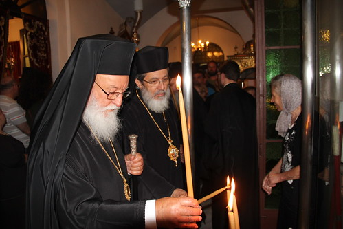 Aρχιερατική Ι. Αγρυπνία ενώπιον της Αγίας Ελένης