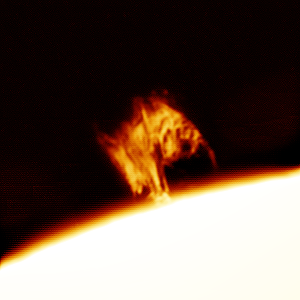 Detail of Prominence