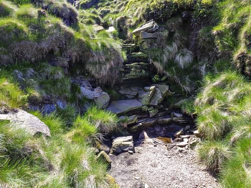 Waterfall on Wigan Clough
